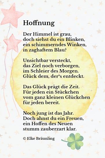 HOFFNUNG-NEUJAHR