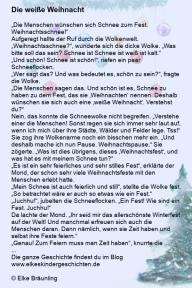Weiße Weihnacht Geschichte
